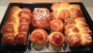 การทำขนมปัง