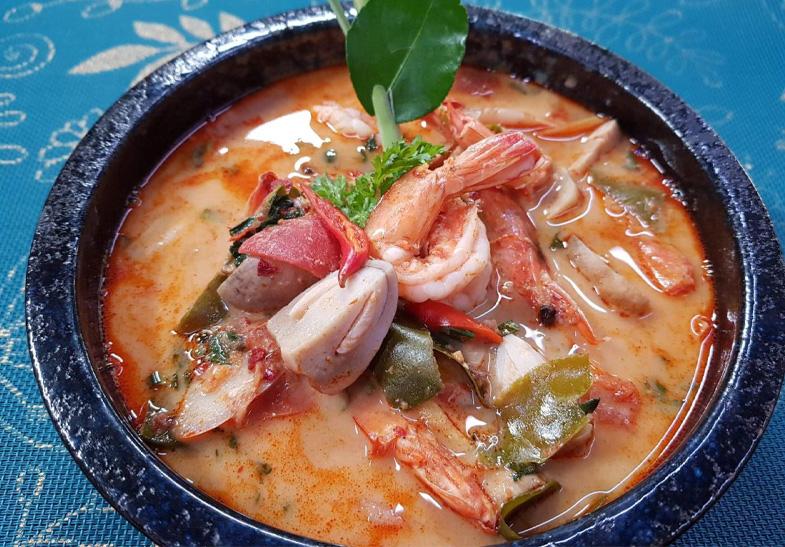 Tom Yum Kung Thai Cooking Online