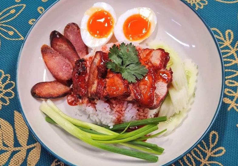 pork rice learn thai street food online