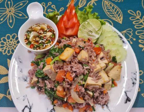Tofu Fried Rice