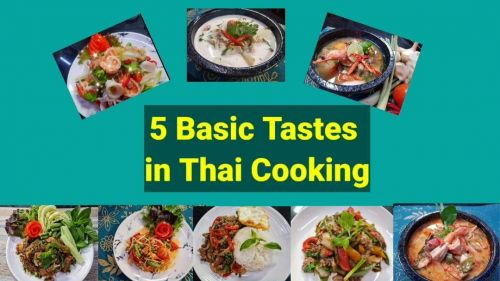 5 Flavors of Thai Cooking