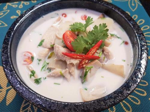 Chicken in Coconut Soup (Tom Kha Gai)