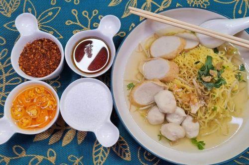 Clear Noodles Soup (Kway Teow Nam Sai)