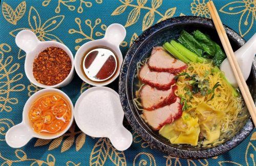 Clear Red Pork Noodles Soup (Ba Mee Kiao Moo Dang Nam Sai)