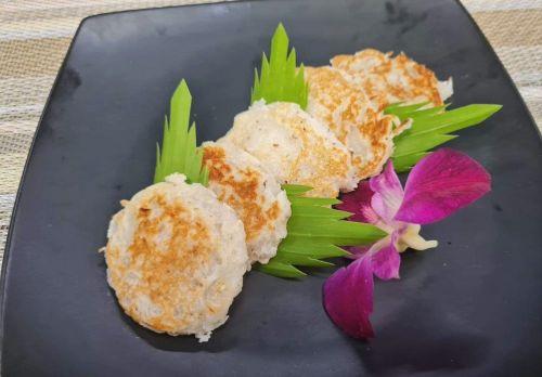 Coconut Pancakes (Kanom Ba Bin)