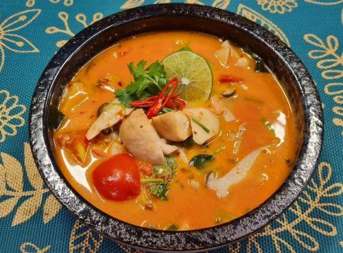 Hot & Sour Milky Mushroom Soup