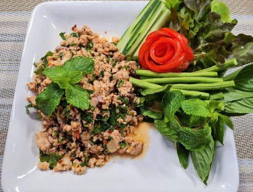 Minced Pork Spicy Salad (Laab Moo)