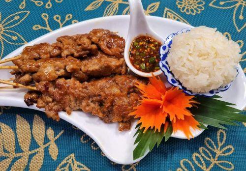 Barbecued Pork on Skewer (Moo Ping)