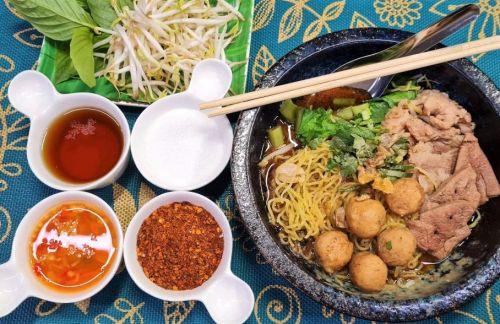 Pork Boat Noodles (Kway Teow Rua Moo)