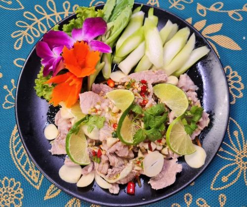 Pork in Lime Sauce (Moo Manow)