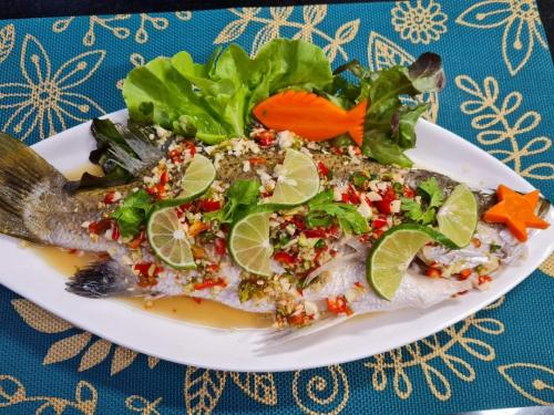 Steamed Fish in Lime Sauce