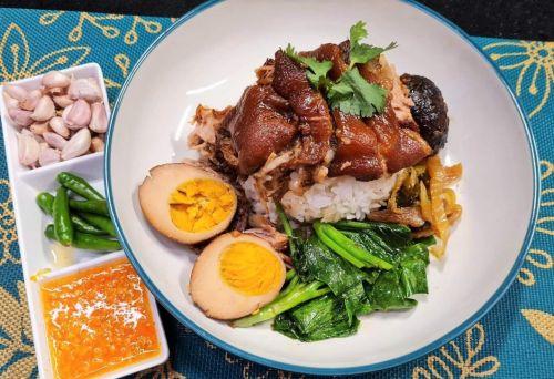 Stewed Pork Leg (Khao Ka Moo)