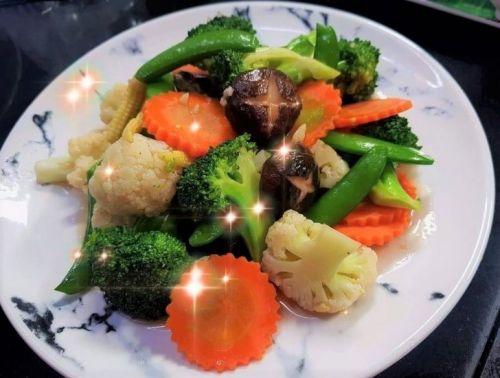 Stir Fried Mixed Vegetables