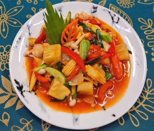 Sweet & Sour Vegetables