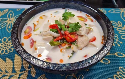 Tofu in Coconut Milk