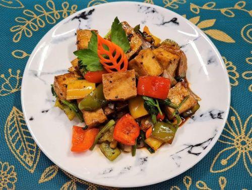 Tofu with Black Pepper