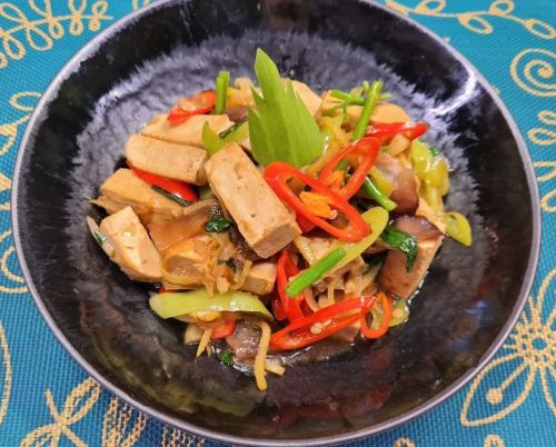 Tofu with Ginger