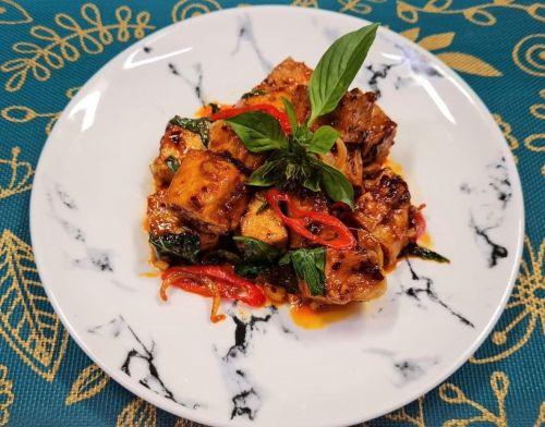 Tofu with Thai Chili Paste