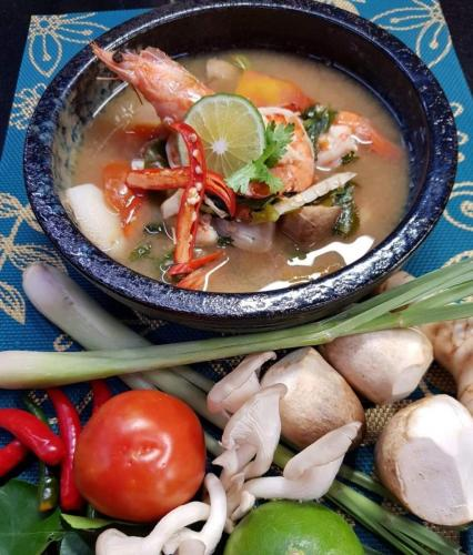 Tom Yum Goong Clear Soup
