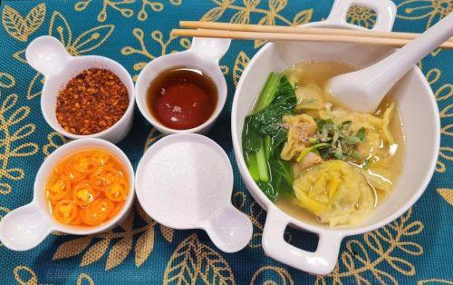 Wonton Soup Thai-Style (Kiao Nam Moo)